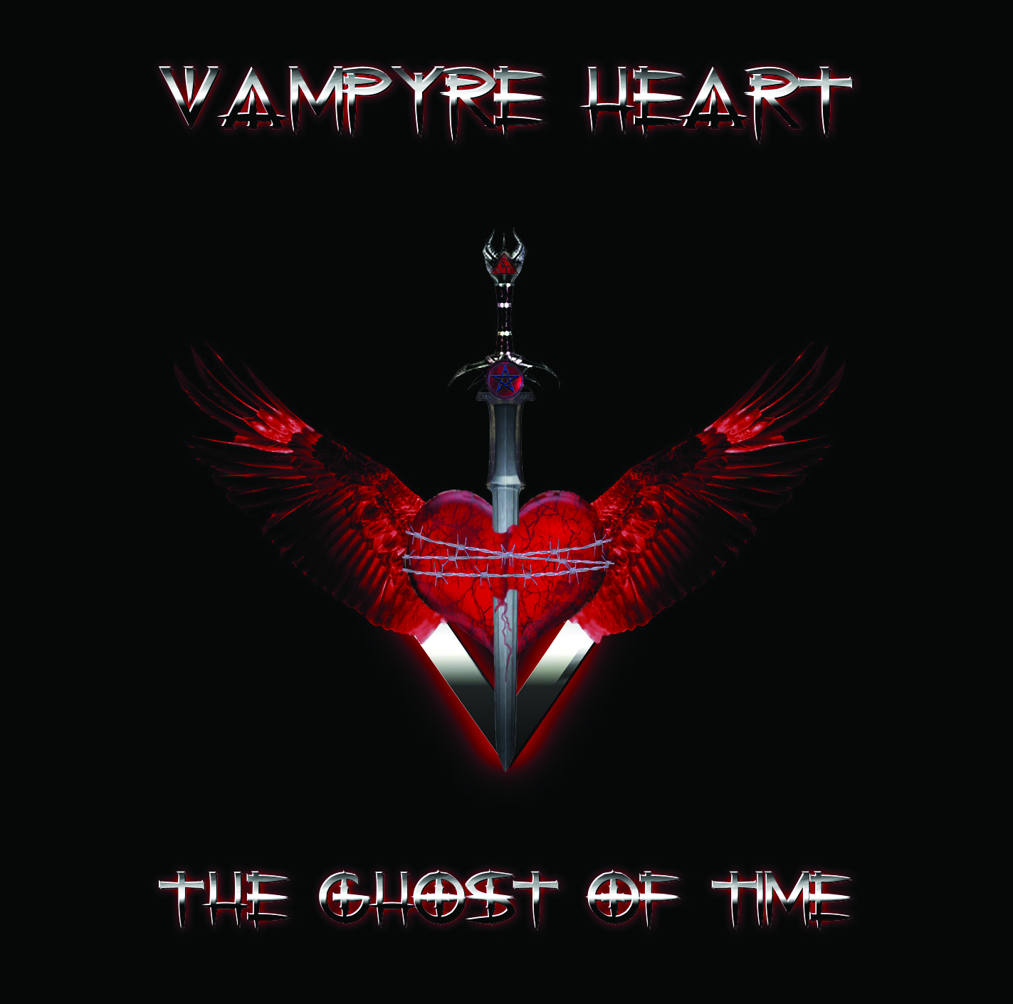 Vampyre Heart - The Ghost of Time - Double Album - Front Cover